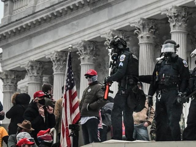 In Washington geht die Angst vor zweitem Angriff des Mobs um