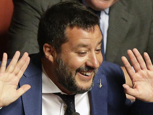 Regierungskrise in Italien : Rückschlag für Salvini