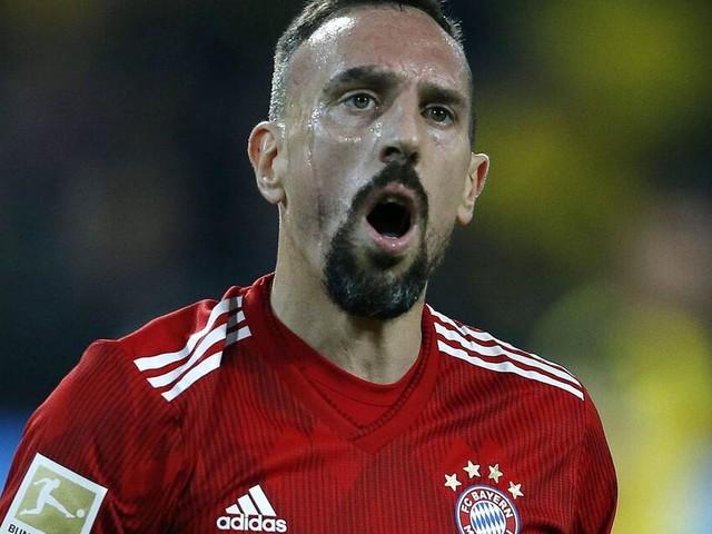 Die Ausraster von Franck Ribéry beim FC Bayern