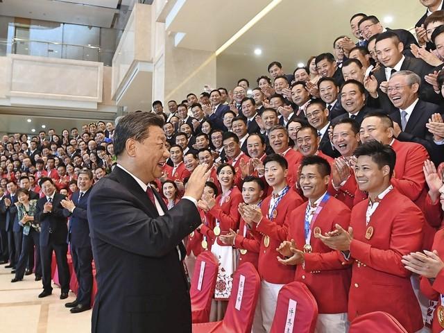 Nationale Spiele in Xi'an: Die Masken rutschen schnell nach unten