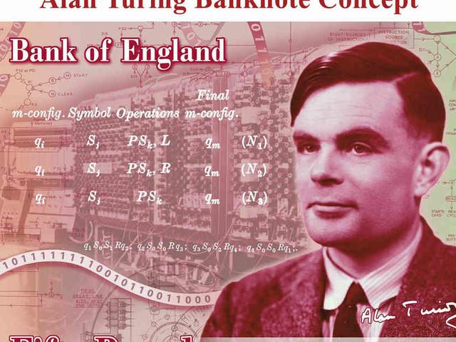 Gedenken an Code-Experten: Alan Turing ziert neue britische 50-Pfund-Banknote