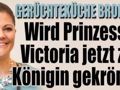 Kronprinzessin Victoria von Schweden: Thronwechsel im schwedischen Königshaus noch dieses Jahr?