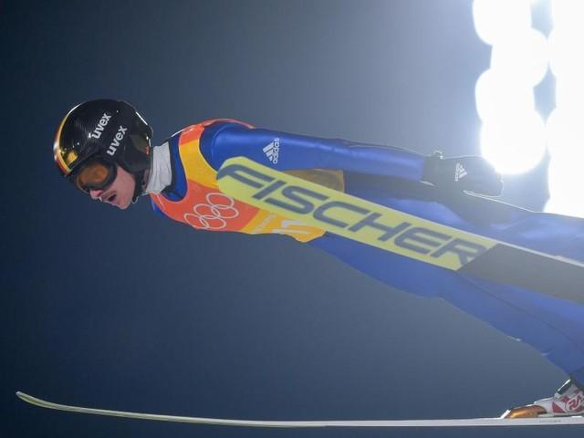 Deutsche Skispringer holen Silber im Mannschaftswettbewerb