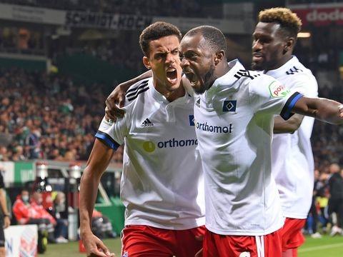 2. Liga: HSV gewinnt turbulentes Nord-Derby bei Werder Bremen