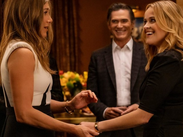 """Aniston und Witherspoon müssen zurück zum Corona-Start - in """"The Morning Show"""""""