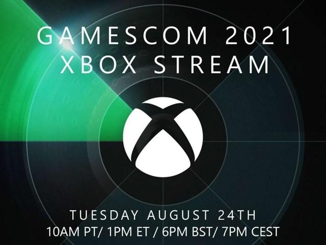 Microsoft: gamescom 2021 Xbox Stream startet um 19 Uhr