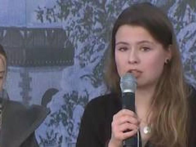 Bei diesem Satz von Luisa Neubauer schüttelt Greta Thunberg den Kopf