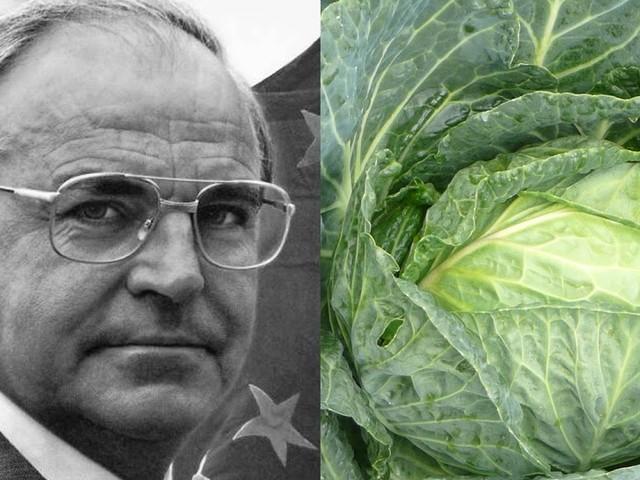 Zu Ehren des Kanzlers der Einheit: Gemüseart soll nach Helmut Kohl benannt werden