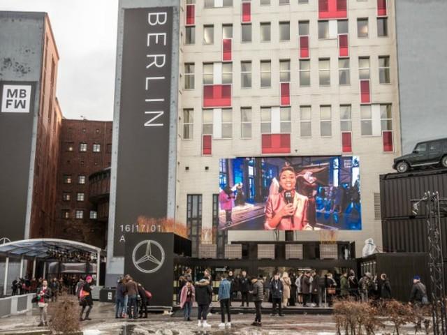 Mercedes-Benz und die Berlin Fashion Week: Mehr als ein Flirt