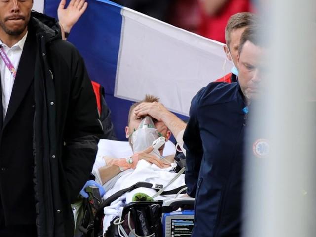 Fußball-EM: Eriksen nach Elektroschock wieder bei Bewusstsein