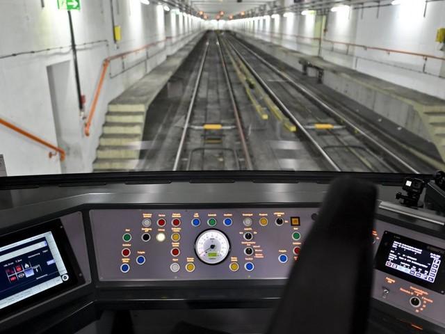 Auf Probefahrt mit der neuen Wiener U-Bahn