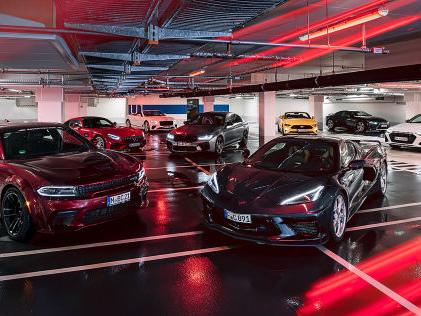 AMG GT, RS 7, M5, Corvette C8 & Co: V8-Sportler im Test V8-Sportler mit Gänsehaut-Sound und Leistung zum Niederknien