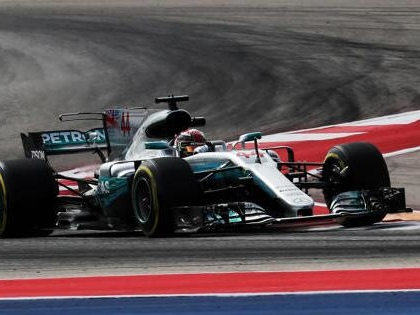 Formel 1 USA 2017: Lewis Hamilton auf Pole-Position
