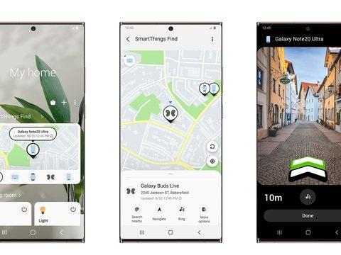 Neue Samsung-App sucht mit nach verlegten Geräten