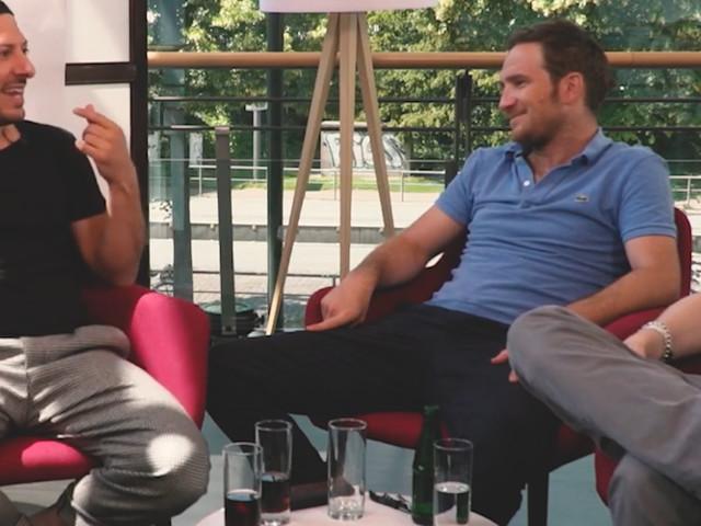 Auf einen (Soft)Drink mit Fahri Yardim und Frederick Lau