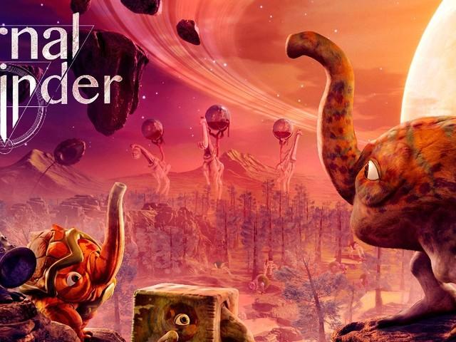 The Eternal Cylinder - Außerirdische Kreaturen fliehen noch im September vor der gigantischen Walze