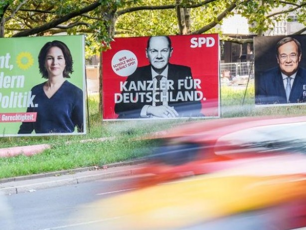 """Bundestagswahl: """"Politbarometer"""": Vorsprung der SPD schmilzt leicht"""