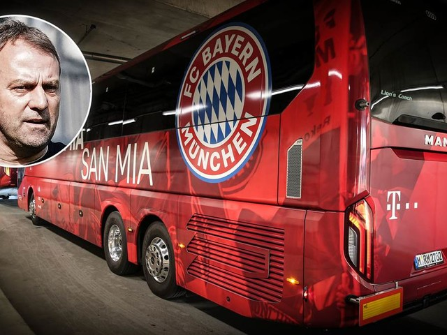 FC Bayern kann Bus-Meister werden