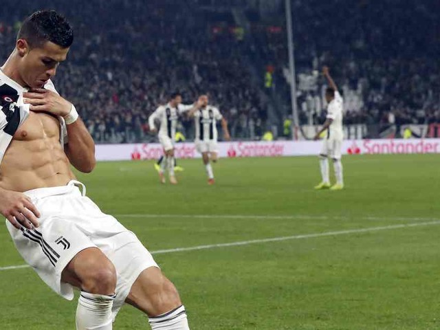 Teamkollegen chancenlos: Ronaldo fordert Fans in Bauchmuskel-Challenge heraus