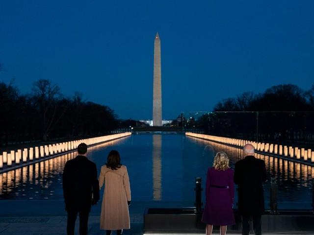 Joe Biden beim Gedenken an Corona-Tote in den USA: »Um zu heilen, müssen wir uns erinnern«