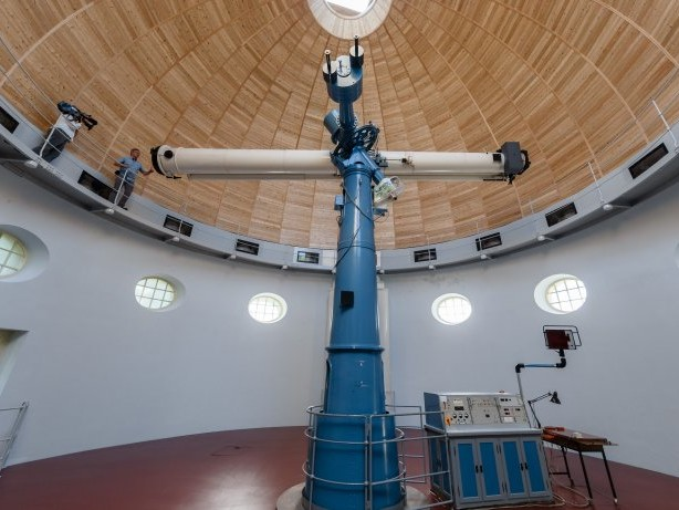 Denkmal in Bergedorf: Kuppelgebäude der Hamburger Sternwarte wieder eröffnet