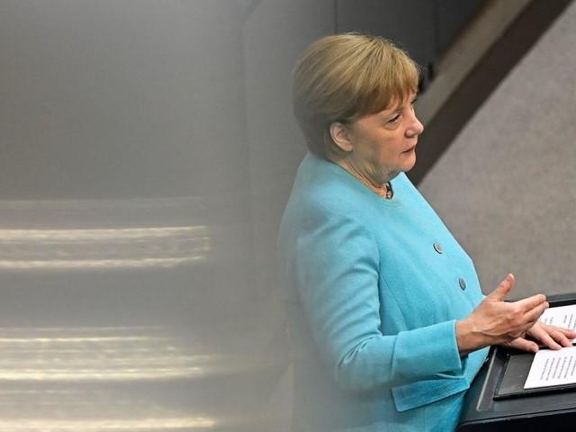 Merkels letzte Regierungserklärung: Mehr Hilfe für die Türkei und Dialog mit Putin