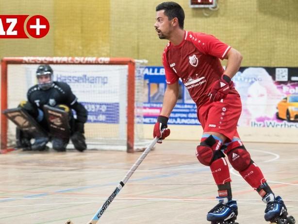 Rollhockey: Die RESG Walsum lässt in Düsseldorf nichts anbrennen