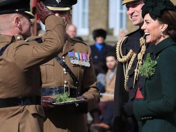 Irischer Feiertag: Kate und William feiern den St. Patrick's Day