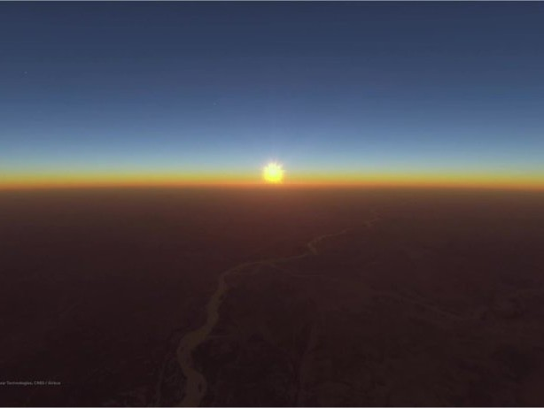 Klimawandel: Google Earth soll Augen öffnen