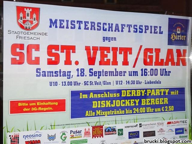 Friesacher AC – SC St. Veit 0:1 (0:1)