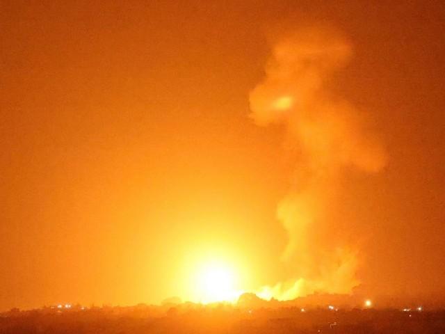 Nach Brandballon-Angriff: Israel beschoss Ziele im Gazastreifen