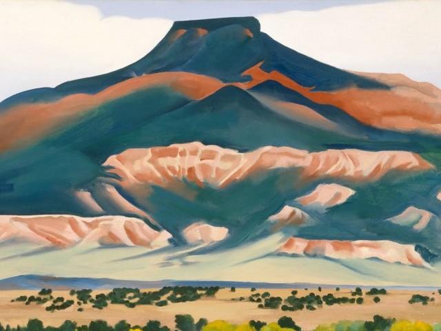 Malereien von Georgia O'Keeffe: Forscher lösen Rätsel um Pickel auf wertvollen Kunstwerken