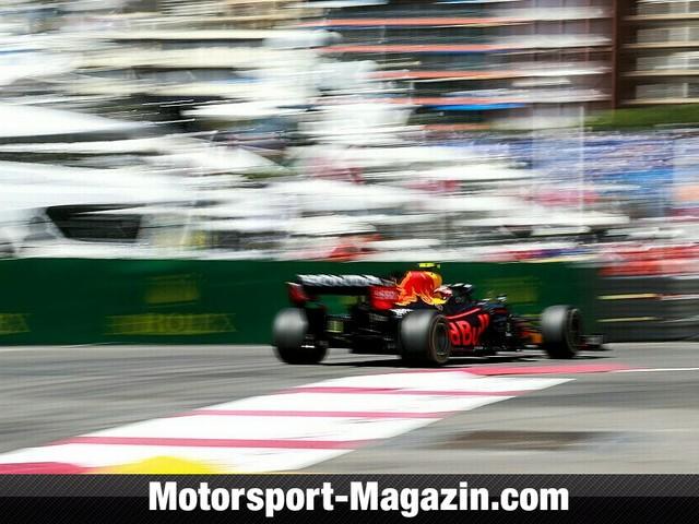 Formel 1 Monaco, 1. Training: Perez vor Sainz und Verstappen
