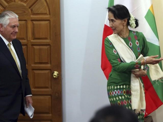 Aung San Suu Kyi weist Kritik zurück