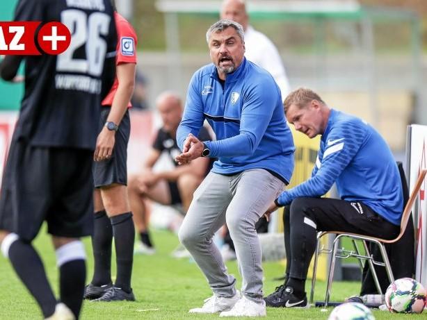 Fußball - Bundesliga: VfL Bochum: Trainer Reis ändert nach 0:7 den Trainingsplan