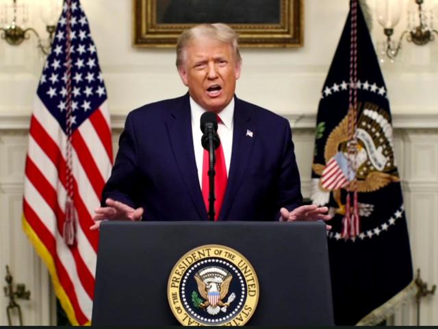 UN-Rede: Donald Trump attackiert China scharf