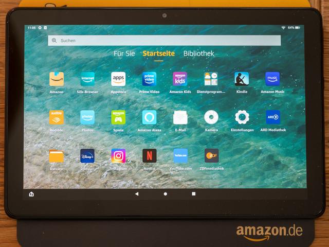 Amazon Fire 10 HD (2021): Test des 10-Zoll-Tablets