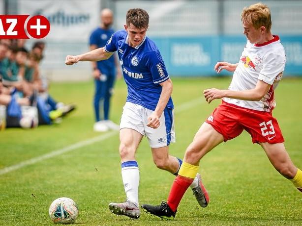 Knappenschmiede: Schalke: Niklas Dörr und Vitalie Becker treffen für die U17