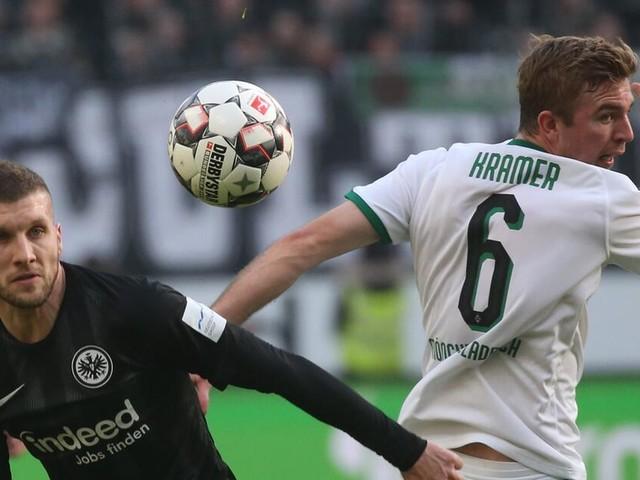 Frankfurt spielt wieder nur Remis: 1:1 gegen Gladbach