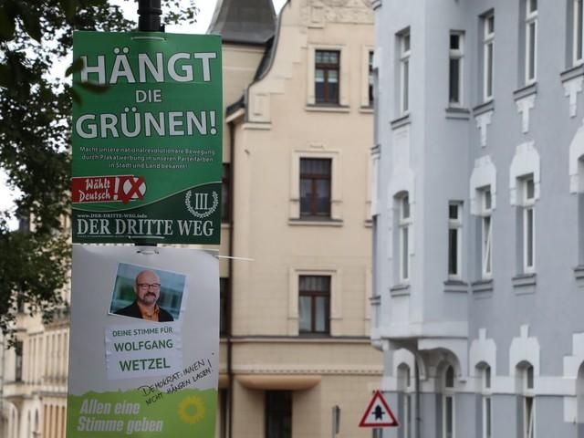 Sachsen: »Hängt die Grünen«-Plakate müssen laut Oberverwaltungsgericht weg