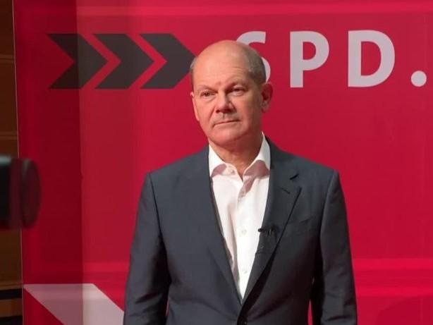 Kanzlerkandidat Olaf Scholz im TikTok-Interview
