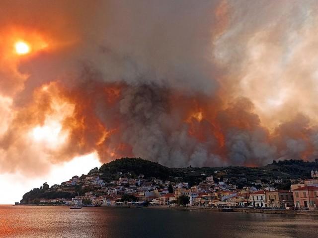 Kampf gegen die Flammen – Griechenland, Türkei und jetzt auch Kroatien