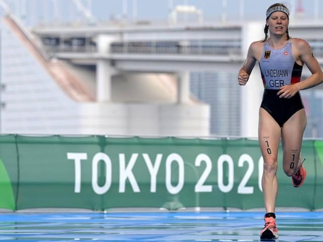 Triathletin Lindemann als Achte im Ziel