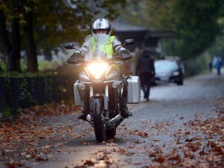 Tipps zum Motorrad fahren im Herbst