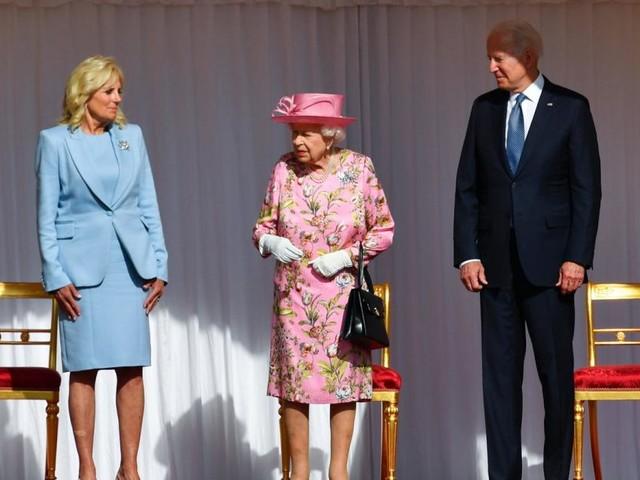 US-Präsident Joe Biden leistete sich Fauxpas bei Queen-Besuch