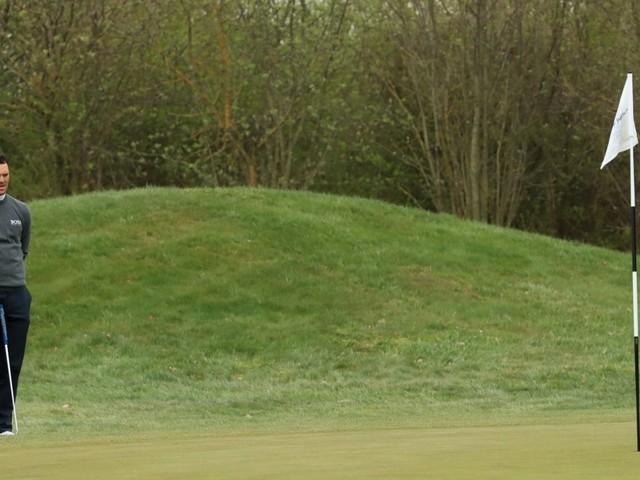 Golf: Cool in der Kälte