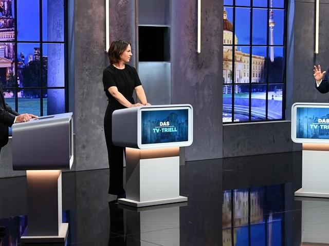Letztes TV-Triell vor der Bundestagswahl: Laschet gegen Scholz, Baerbock gegen den Rest