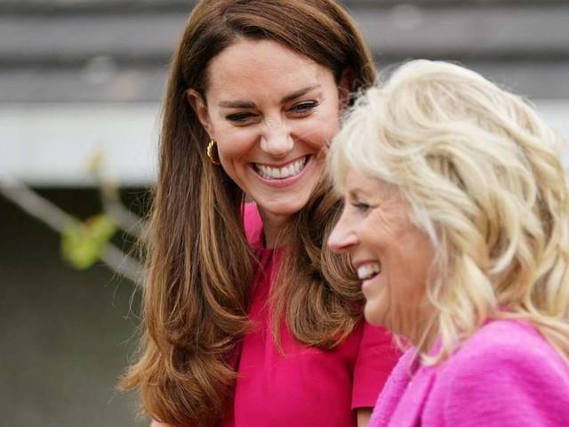 Herzogin Kate und Jill Biden: Gipfeltreffen der beiden Powerfrauen