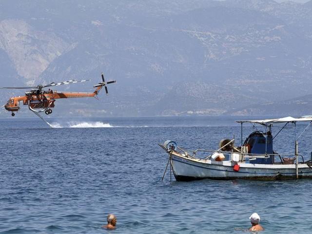 """Kampf gegen Waldbrände und Sorge vor Stromausfällen am Mittelmeer - """"Schlimmste Hitzewelle seit 1987″"""