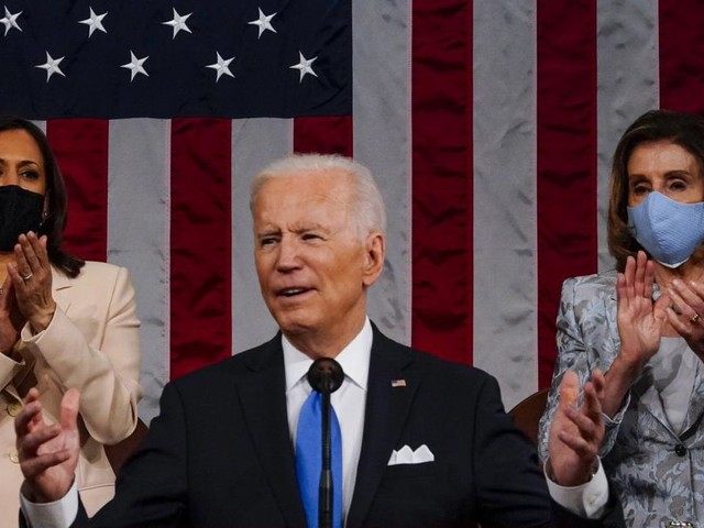 """Bidens Rede zur Lage der Nation: USA bereit zum""""Abheben"""""""